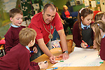 School visit to Welsh Water Education Center.<br /> 17.11.14<br /> &copy;Steve Pope-FOTOWALES