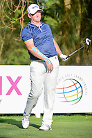 Marcus Fraser (AUS) watches his tee shot on 9 during round 1 of the World Golf Championships, Mexico, Club De Golf Chapultepec, Mexico City, Mexico. 3/2/2017.<br /> Picture: Golffile | Ken Murray<br /> <br /> <br /> All photo usage must carry mandatory copyright credit (&copy; Golffile | Ken Murray)
