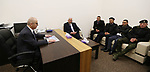 Palestinian Prime Minister, Rami Hamdallah, meets with Directors of the security establishment in Bethlehem Governorate, in the West Bank city of Bethlehem, on January 6, 2019. Photo by Prime Minister Office