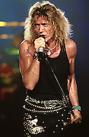 David Coverdale of Whitesnake performs at Madison Square Garden in New York US