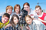 Creative: The students of Listowel Community College who were making a film in Listowel this week - Front l-r Michelle Murphy and Rachel Wilmott. Back l-r Johnny Foley, Lisa Fingleton (tutor), Joanna Ryan, Samantha Leahy and Kevin Murphy.   Copyright Kerry's Eye 2008