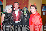 Pictured at the Kilcummin Halloween party in the Klub Bar, Kilcummin on Sunday night were Joan Cronin, Neilus McCarthy, Joan Collins and Rose O'Connor.
