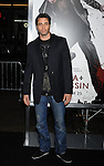 "HOLLYWOOD, CA. - November 19: Victor Webster  arrives at the ""Ninja Assassin"" Los Angeles Premiere at the Grauman's Chinese Theatre on November 19, 2009 in Hollywood, California."