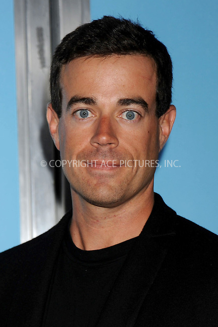 WWW.ACEPIXS.COM . . . . .....June 4, 2008. New York City.....Talk show host Carson Daly attend the 'You Don't Mess With the Zohan' Premiere held at the Ziegfeld Theater...  ....Please byline: Kristin Callahan - ACEPIXS.COM..... *** ***..Ace Pictures, Inc:  ..Philip Vaughan (646) 769 0430..e-mail: info@acepixs.com..web: http://www.acepixs.com