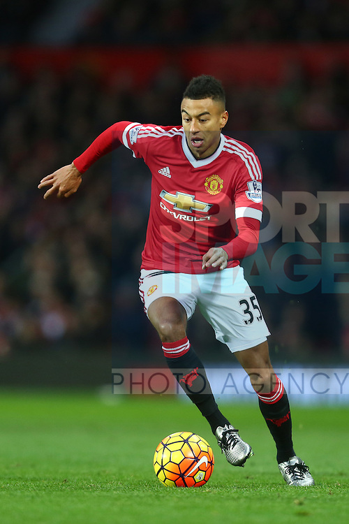 Jesse Lingard of Manchester United - Manchester United vs West Ham United - Barclay's Premier League - Old Trafford - Manchester - 05/12/2015 Pic Philip Oldham/SportImage