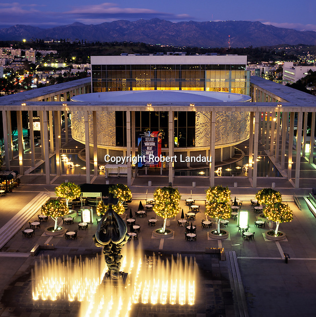 The Music Center,downtown Los Angeles