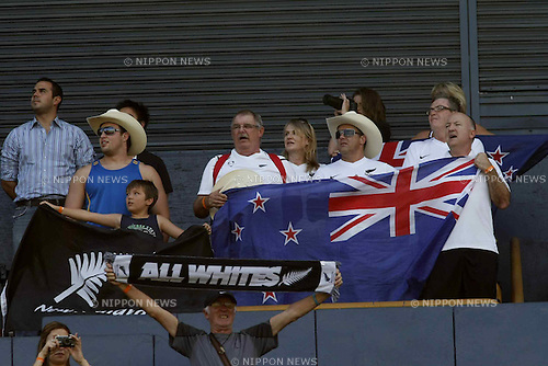 New Zealand fans (NZL),..JUNE 29, 2011 - Football :..2011 FIFA U-17 World Cup Mexico Round of 16 match between Japan 6-0 New Zealand at Estadio Universitario in Monterrey, Mexico. (Photo by MEXSPORT/AFLO)