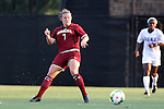 14 August 2014: South Carolina's Savannah McCaskill. The Duke University Blue Devils hosted the University of South Carolina Gamecocks at Koskinen Stadium in Durham, NC in a 2014 NCAA Division I Women's Soccer preseason match. Duke won the exhibition 2-0.