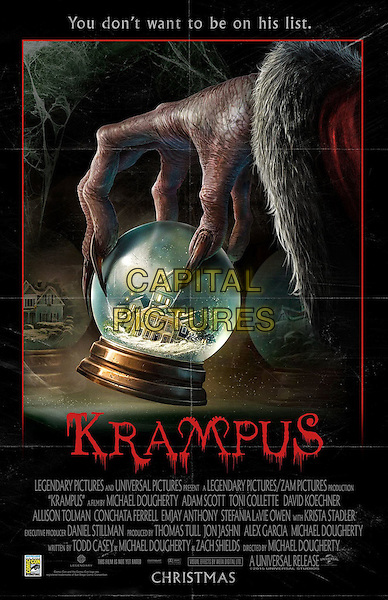 Krampus (2015) <br /> POSTER ART<br /> *Filmstill - Editorial Use Only*<br /> CAP/FB<br /> Image supplied by Capital Pictures