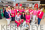 Members of the Tralee Golf Club launch their fundraiser 'Play In Pink' for Cancer Research in Pamela Scotts in Tralee on Tuesday.<br /> Seated l to r: Carole Dooley, Fionnuala Mann (Ladies Captain) and Gillian Riardon (Pamela Scotts). <br /> Standing l to r: Kate Nealon, Mary Barrett, Mary Murphy, Norann Shanahan, Ber Walsh, Deidre McElligott, Mary Boyle, Marie Shanahan, Bernie rohan, Margaret O'Shea, Kay Fitzgerald, Annette McAuliffe and Pat Boyle.