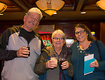 Steve, Kathe and Becca during the Sheep Dip 54 Show at the Eldorado Hotel & Casino on Friday night, Jan. 12, 2018.