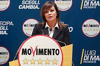 Paola Giannettakis<br /> Roma 29/01/2018. Presentazione dei candidati nelle liste uninominali del Movimento 5 Stelle.<br /> Rome January 29th 2018. Presentation of the candidates for Movement 5 Stars.<br /> Foto Samantha Zucchi Insidefoto