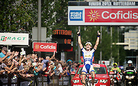Jelle Wallays (BEL) wins stage 1<br /> <br /> 2nd World Ports Classic 2013<br /> stage 1: Antwerpen (BEL) - Rotterdan (NLD)<br /> 165km