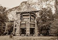 Historic Ahwanee Hotel at Yosemite National Park