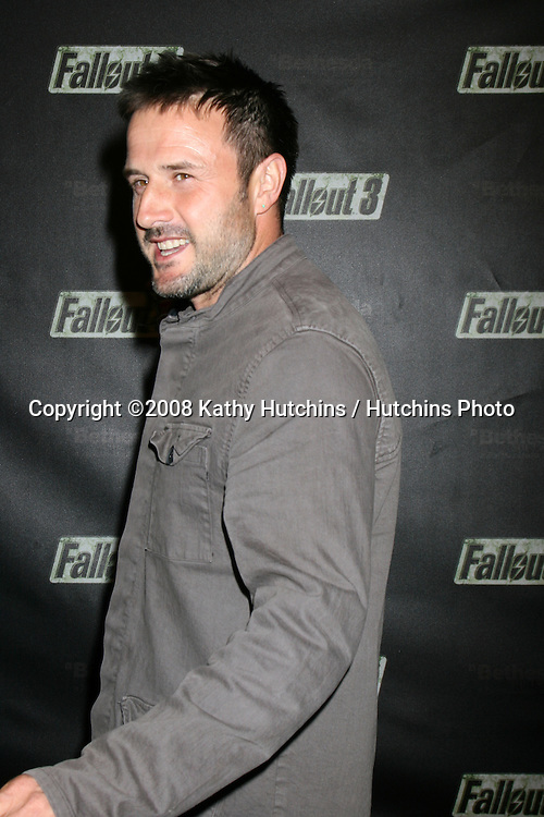 "arriving at the Launch of ""Fallout 3"" Videogame at the LA Center Studios  in Los Angeles, CA.October 16, 2008.©2008 Kathy Hutchins / Hutchins Photo...                ."