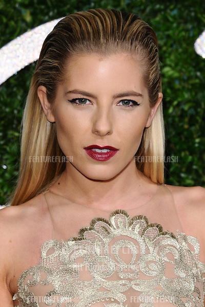 Mollie King arrives for British Fashion Awards 2014 at the London Coliseum, Covent Garden, London. 01/12/2014 Picture by: Steve Vas / Featureflash