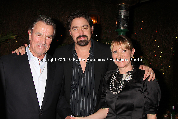 Christian Gudegast, Eric Braeden, & Maria Arena Bell.at the Eric Braeden's 30th Anniversary on The Young & The Restless Cocktail Reception .Pane e Vino Resturant.Los Angeles, CA.February 3, 2010.©2010 Kathy Hutchins / Hutchins Photo..Publicist & Braeden Approved....