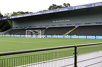 General view of The Glyn Beverly Stand at Bromley FC during Bromley vs Chesterfield, Vanarama National League Football at the H2T Group Stadium on 7th September 2019