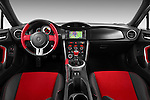 Straight dashboard view of a 2013 Toyota GT86 Sport Coupe.