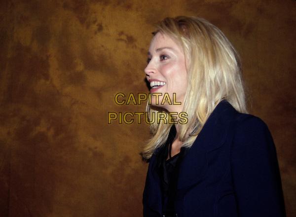 SHARON STONE.April 2006.Ref: AW.headshot portrait profile.www.capitalpictures.com.sales@capitalpictures.com.© Capital Pictures.