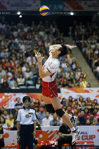Yoshifumi Suzuki (JPN), SEPTEMBER 21, 2015 - Volleyball : FIVB Men's World Cup 2015 A-site 3rd Round between Japan 0-3 Argentina 1st Yoyogi Gymnasium in Tokyo, Japan. (Photo by Yusuke Nakanishi/AFLO SPORT)