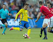 June 1th 2017, Ullevaal Stadion, Oslo, Norway; International Football Friendly 2018 football, Norway versus Sweden; (C)   Christoffer Nyman of Sweden in action