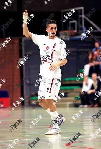 2010-09-24 / Futsal / seizoen 2010-2011 / Chase Topsport Antwerpen / Aziz Hitou..Foto: Mpics