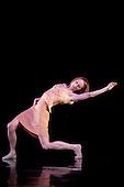 LONDON, ENGLAND - Rambert Dance Company performing Awakenings at Sadler's Wells, Angela Towler dancing
