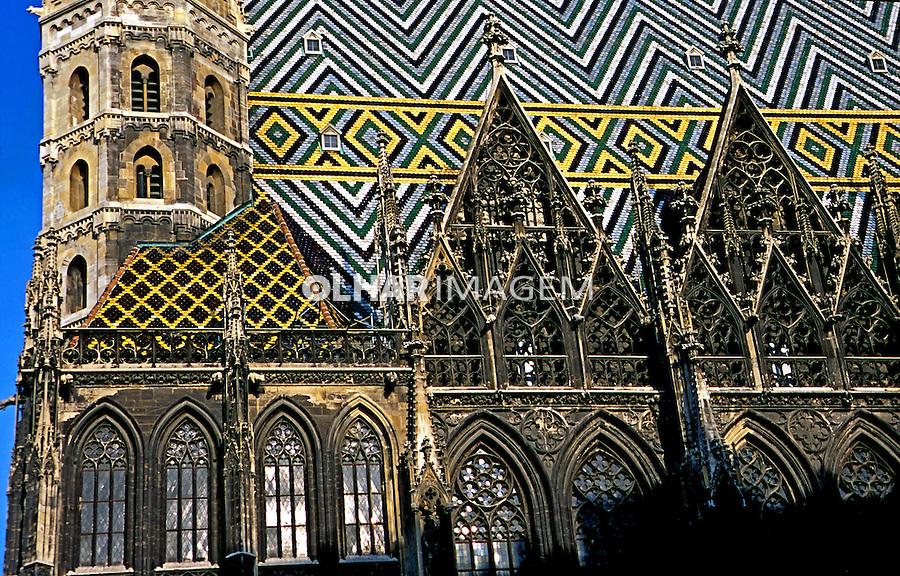 Arquitetura da cidade de Viena. Áustria. 2000. Foto de Nair Benedicto.