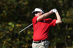 31 October 2016: North Carolina State University's Davis Richards. The Third Round of the 2016 Bridgestone Golf Collegiate NCAA Men's Golf Tournament hosted by the University of North Carolina Greensboro Spartans was held on the West Course at the Grandover Resort in Greensboro, North Carolina.