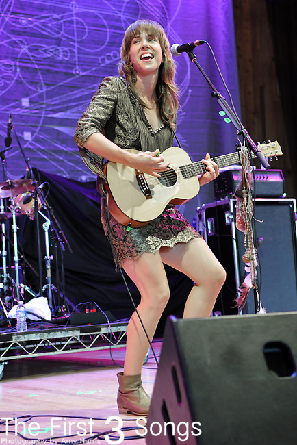 Serena Ryder performs at Blossom Music Center in Cleveland, Ohio as part of the Lilith Fair on Tuesday July 27, 2010.