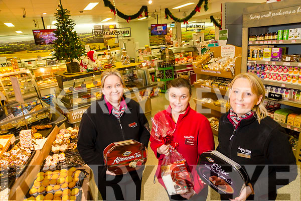 Christmas Shopping in Abbeyfeale at Twohig's SuperValu Abbeyfeale Diane O'Connor, Michelle Smite and Karen Curtin