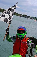 26  July, 2009, Trenton, Michigan USA.SST-45 World Champion Jason Nelson (#18)..©2009 F.Peirce Williams USA.SST-45 class