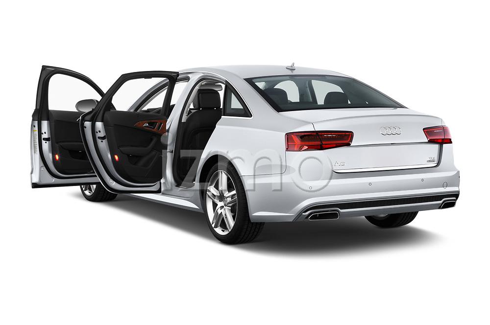 Car images close up view of 2016 Audi A6  TDI quattro tiptronic Prestige  4 Door Sedan doors