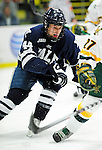 30 November 2009: Yale University Bulldogs' forward Jeff Anderson, a Junior from Port Coquitlam, B.C., in action against the University of Vermont Catamounts at Gutterson Fieldhouse in Burlington, Vermont. The Bulldogs fell to the Catamounts 1-0 in a close rematch of last season's first round of the NCAA post-season playoff Tournament. Mandatory Credit: Ed Wolfstein Photo