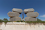 Israel, Jerusalem, Yad Vashem, the Holocaust Memorial and Museum, a memorial to the Jewish partisans 2005<br />