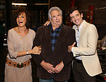 """Mercedes Reuhl, Harvey Fierstein and Michael Urie attends the Broadway cast photo call for """"Torch Song"""" at the Hayes Theatre on September 20, 2018 in New York City."""