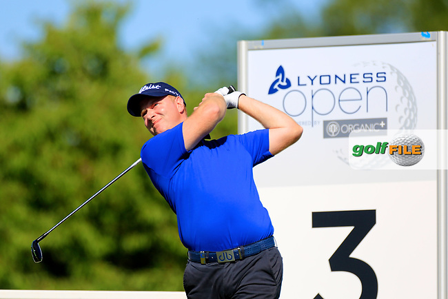 Richard McEvoy (ENG) during the first round of the Lyoness Open powered by Organic+ played at Diamond Country Club, Atzenbrugg, Austria. 8-11 June 2017.<br /> 08/06/2017.<br /> Picture: Golffile | Phil Inglis<br /> <br /> <br /> All photo usage must carry mandatory copyright credit (&copy; Golffile | Phil Inglis)