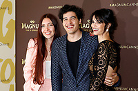 Camihawke, Cristiano Caccamo and Francesca Chillemi attending the 'Magnum x Rita Ora' Party during the 72nd Cannes Film Festival on May 16, 2019 in Cannes, France