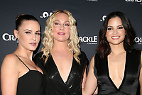 CULVER CITY, CA - MARCH 7: Eve Mauro, Elisabeth Rohm, Katrina Law, pictured at Crackle's The Oath Premiere at Sony Pictures Studios in Culver City, California on March 7, 2018. <br /> CAP/MPIFS<br /> &copy;MPIFS/Capital Pictures