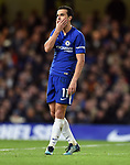Pedro of Chelsea during the premier league match at Stamford Bridge Stadium, London. Picture date 30th December 2017. Picture credit should read: Robin Parker/Sportimage