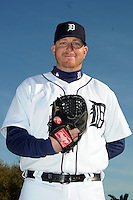 Feb 21, 2009; Lakeland, FL, USA; The Detroit Tigers pitcher Bobby Seay (44) during photoday at Tigertown. Mandatory Credit: Tomasso De Rosa/ Four Seam Images