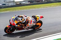 2nd November 2019; Sepang Circuit, Sepang Malaysia; MotoGP Malaysia, Qualifying Day;  The number 99 Repsol Honda Team rider Jorge Lorenzo during practice 3 - Editorial Use