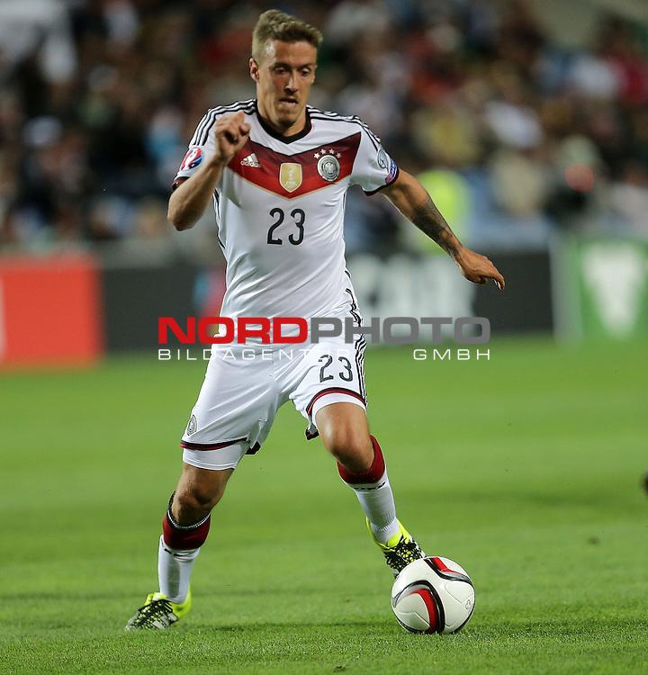 EM 2015 Qualifikationsspiel, Gibraltar vs. Deutschland<br /> Max Kruse (Deutschland)<br /> <br /> <br /> Foto &copy; nordphoto /  Bratic