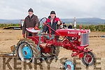 Joe McCarthy, Ballyheigue and John McCarthy, Ballyheigue. at the Abbeydorney Ploughing Match at Corridan's Farm, Ballysheen on Monday