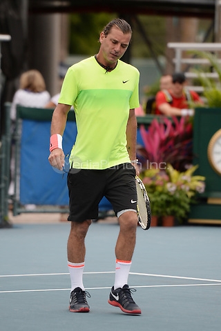 DELRAY BEACH, FL - NOVEMBER 21: Gavin Rosedale participates in The 26th Annual Chris Evert/Raymond James Pro-Celebrity Tennis Classic at Delray Beach Tennis Center on November 21, 2015 in Delray beach, Florida. Credit: mpi04/MediaPunch