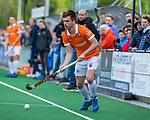 BLOEMENDAAL - Thierry Brinkman (Bldaal)  tijdens de hoofdklasse competitiewedstrijd hockey heren,  Bloemendaal-Den Bosch (2-1) COPYRIGHT KOEN SUYK