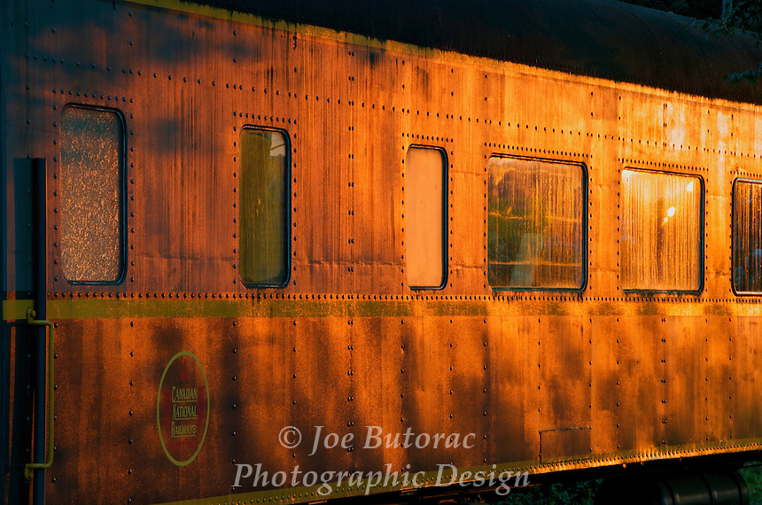 Canadian National Railway 1947 Passenger Rail Car the E & E Taylor at the CN Fort Langley Station Fort Langley B.C.