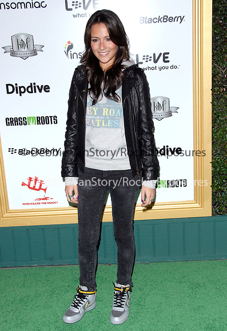 Italia Ricci at The First Annual Data Awards, presented by will.i.am, The Black Eyed Peas & Dipdive held at The Hollywood Palladium in Hollywood, California on January 28,2010                                                                   Copyright 2009  DVS / RockinExposures