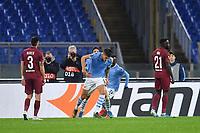 Joaquin Correa of SS Lazio celebrates after scoring the goal of 1-0 for his side<br /> Roma 28-11-2019 Stadio Olimpico <br /> Football Europa League 2019/2020 <br /> SS Lazio - CFR Cluji <br /> Photo Andrea Staccioli / Insidefoto